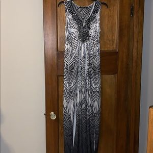 Apt. 9 Dresses - Apt. 9 B&W Maxi Dress